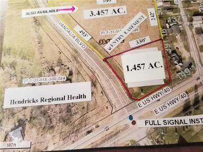 Plainfield Commercial For Sale: 5348 Us 40 Lot B