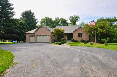 Indianapolis Single Family Home For Sale: 7859 East 900 N Road