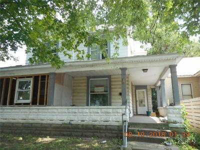 Wayne County Single Family Home For Sale: 437 South 12th Street