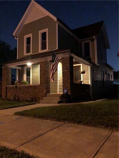Indianapolis Single Family Home For Sale: 1846 Barth Avenue