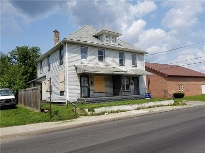 Indianapolis Multi Family Home For Sale: 914 East 25th Street E