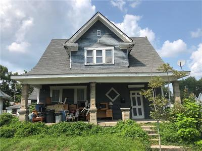 Greenfield Single Family Home For Sale: 622 East North Street