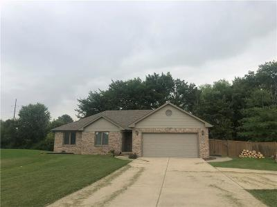 Avon Single Family Home For Sale: 1051 South County Road 800 Road E