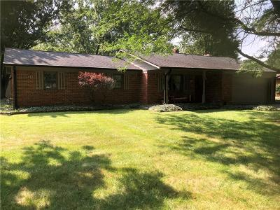Brownsburg Single Family Home For Sale: 12 Roselawn Avenue
