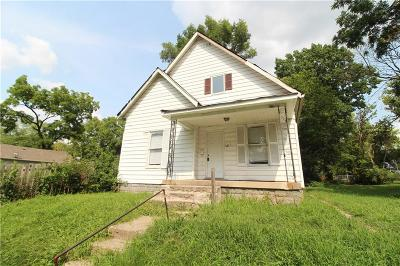 Indianapolis Single Family Home For Sale: 2523 North Olney Street
