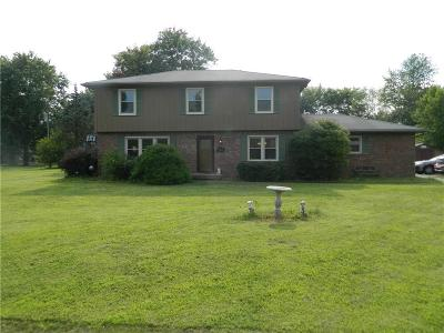 Greenfield IN Single Family Home For Sale: $194,900