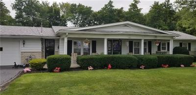 Rushville Single Family Home For Sale: 630 North Ft. Wayne Rd Road