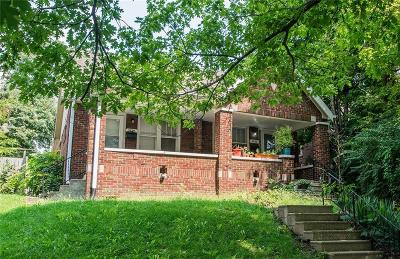 Indianapolis Single Family Home For Sale: 3220 Brookside Parkway N Drive