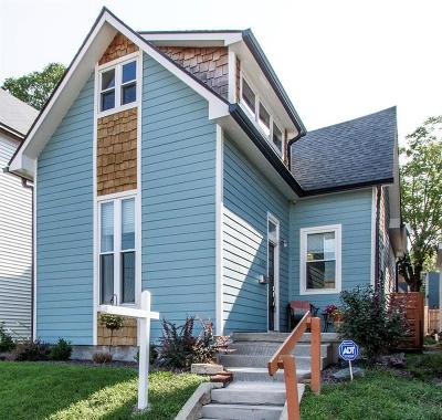 Indianapolis Single Family Home For Sale: 223 Dickson Street