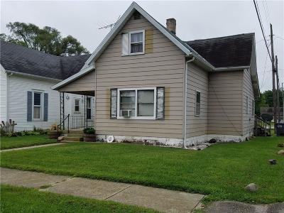 Rushville Single Family Home For Sale: 615 West 9th Street