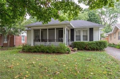 Indianapolis Single Family Home For Sale: 5865 North Haverford Avenue