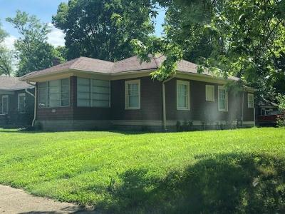 Indianapolis Single Family Home For Sale: 4226 Kingsley Drive