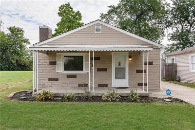Indianapolis Single Family Home For Sale: 47 South Edmondson Avenue