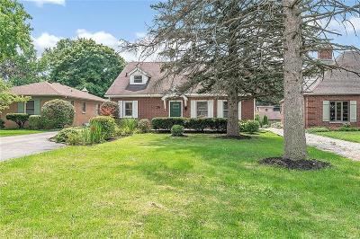 Indianapolis Single Family Home For Sale: 6117 East 10th Street