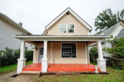 Indianapolis Single Family Home For Sale: 614 North Keystone Avenue