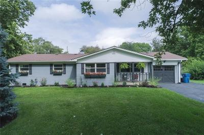Indianapolis Single Family Home For Sale: 245 North Green Springs Road