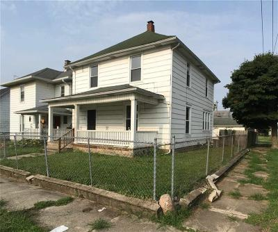 Henry County Single Family Home For Sale: 1401 South 17th Street