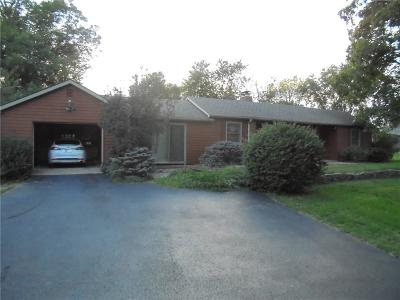 Greencastle IN Single Family Home For Sale: $189,900