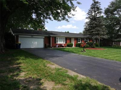 Greenfield Single Family Home For Sale: 1304 East Davis Road