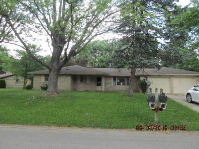 Madison County Single Family Home For Sale: 5832 North Teresa Drive