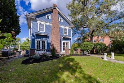 Indianapolis Single Family Home For Sale: 556 East Fall Creek Parkway North Drive