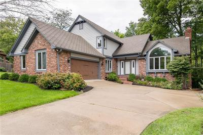 Indianapolis Single Family Home For Sale: 8538 Helmsman Circle