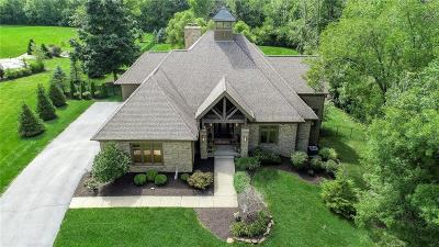 Zionsville Single Family Home For Sale: 3080 Huddersfield Lane