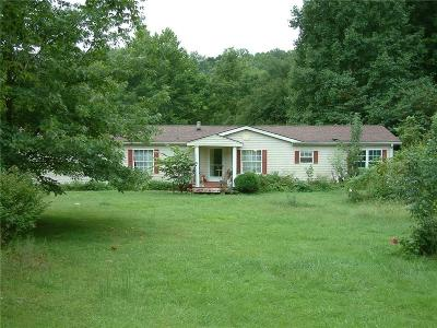 Owen County Single Family Home For Sale: 8600 Fiscus Road