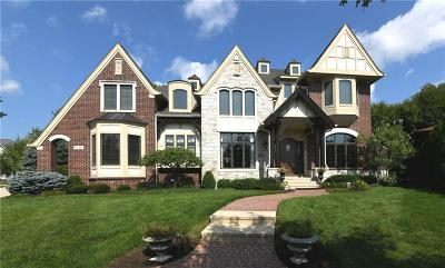 Zionsville Single Family Home For Sale: 6730 Beekman Place W