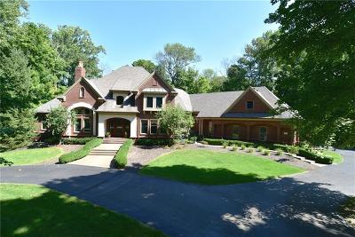 Johnson County Single Family Home For Sale: 7518 West Banta Woods Drive
