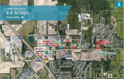 Zionsville Commercial Lots & Land For Sale: 7250 West Oak Street