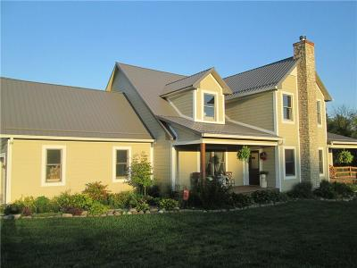 Coatesville Single Family Home For Sale: 225 North Putnam County Road