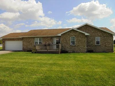 Delaware County Single Family Home For Sale: 5836 South County Road 105 E