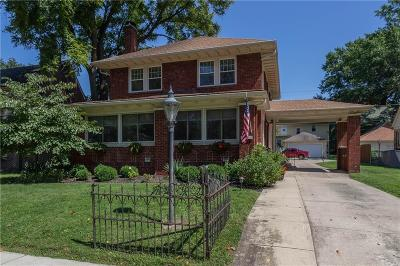 Single Family Home For Sale: 5131 North Delaware Street