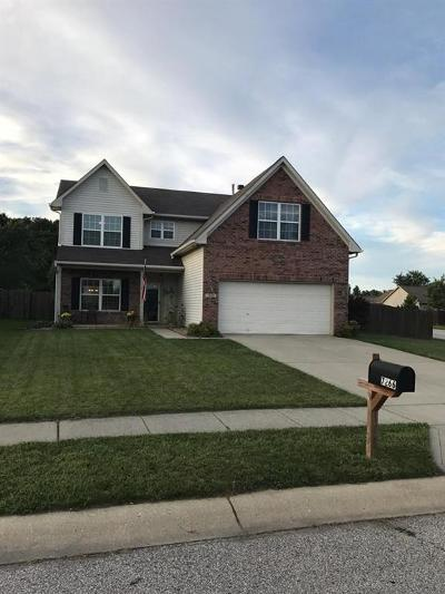 Indianapolis Single Family Home For Sale: 7266 Kidwell Drive