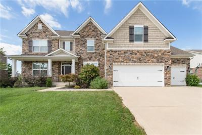 Brownsburg Single Family Home For Sale: 7812 Walker Cup Drive