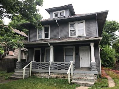 Indianapolis Single Family Home For Sale: 622 Udell Street