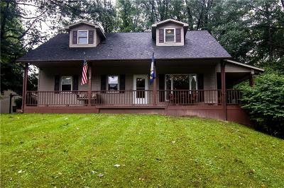Scipio Single Family Home For Sale: 7880 North County Road 600 W