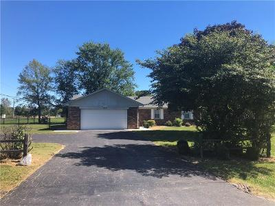 Greenfield Single Family Home For Sale: 6671 West 100 N