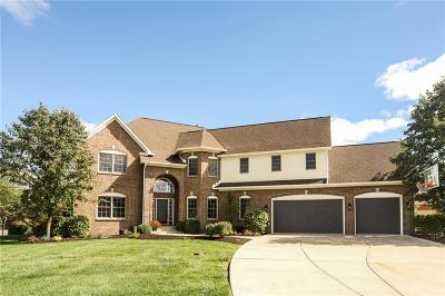 Fishers Single Family Home For Sale: 11787 Hanley Drive