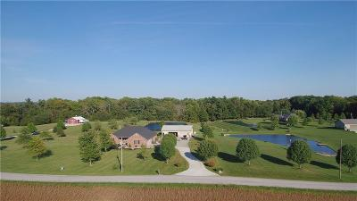 Greensburg  Single Family Home For Sale: 4926 South County Road 20 W