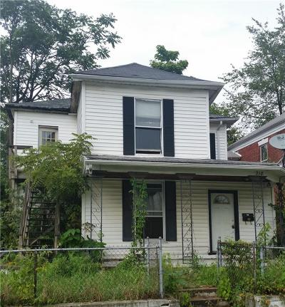 Delaware County Multi Family Home For Sale: 218 East 7th Street