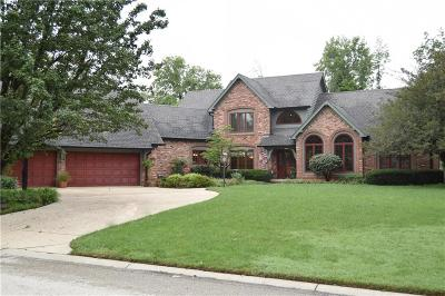Indianapolis Single Family Home For Sale: 10964 Windjammer Drive S