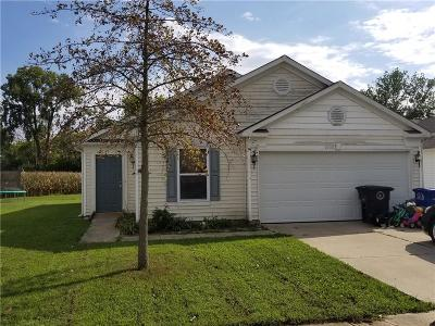 Shelbyville Single Family Home For Sale: 1603 Carriage Circle