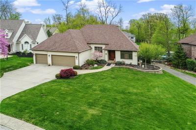 Indianapolis Single Family Home For Sale: 9011 Admirals Bay Drive