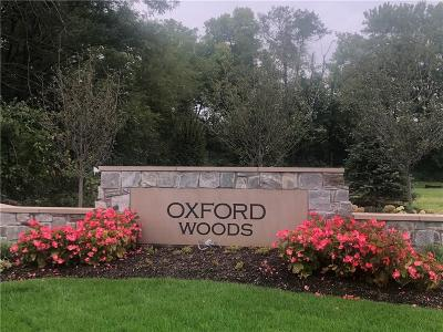 Zionsville Residential Lots & Land For Sale: 11700 Walton Cres