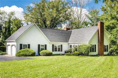 Indianapolis Single Family Home For Sale: 10480 Spring Mill Road