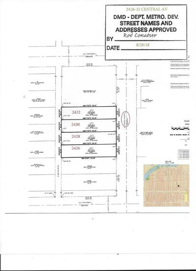 Indianapolis Residential Lots & Land For Sale: 2426 Central Avenue