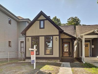 Indianapolis Single Family Home For Sale: 1531 Pleasant Street