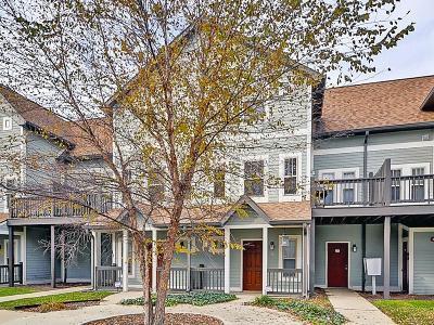Indianapolis Condo/Townhouse For Sale: 2241 North Scioto Street #3